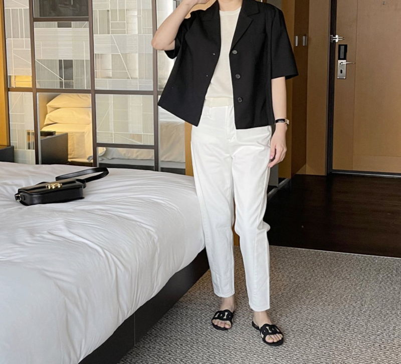 AFTERGLOW - Korean Women Fashion - #Kfashion - The Cash Short Jacket - 7
