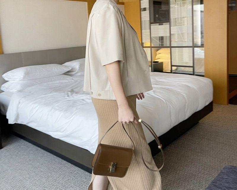 AFTERGLOW - Korean Women Fashion - #Kfashion - The Cash Short Jacket - 8