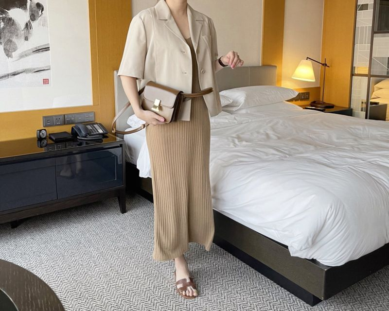 AFTERGLOW - Korean Women Fashion - #Kfashion - The Cash Short Jacket - 9