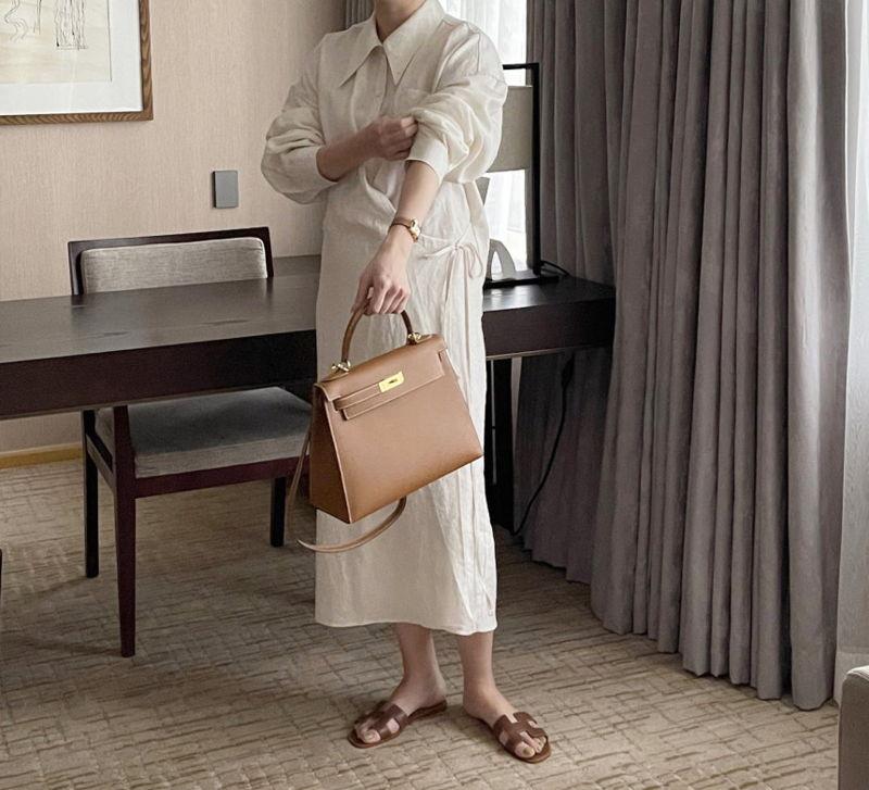 AFTERGLOW - Korean Women Fashion - #Kfashion - Lemere Linen One-piece - 2