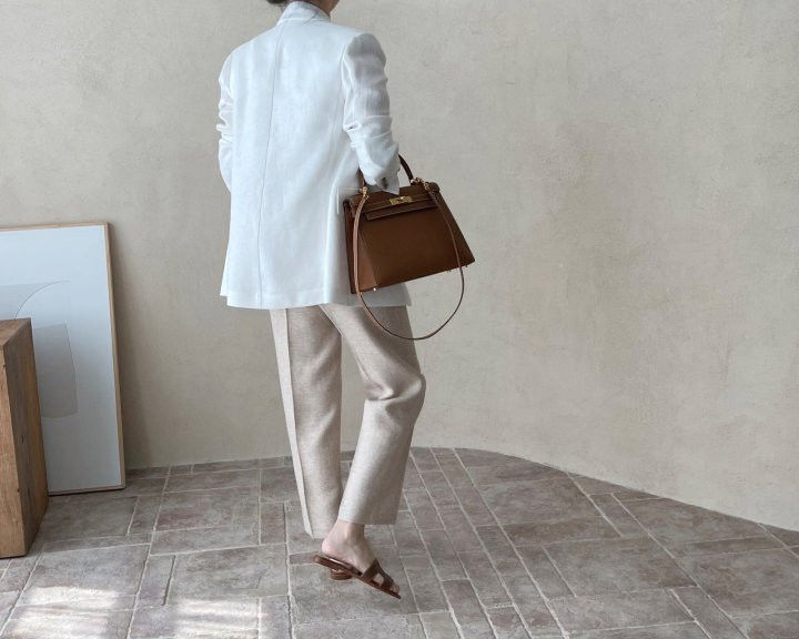 AFTERGLOW - Korean Women Fashion - #Kfashion - Dear Linen Jacket - 7