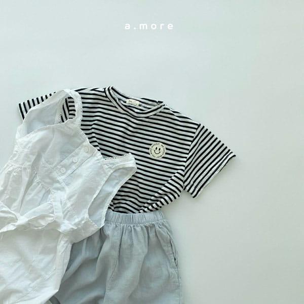 AMORE - Korean Children Fashion - #Kfashion4kids - Mom Mini Smile Tee