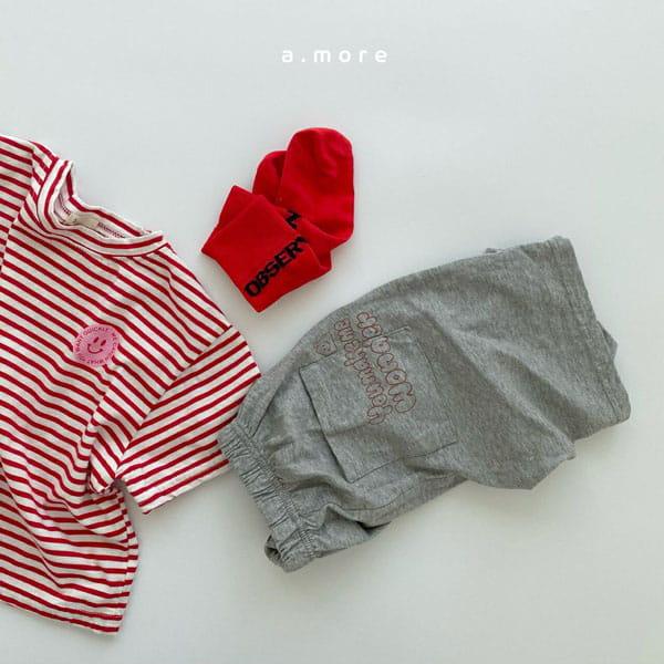 AMORE - Korean Children Fashion - #Kfashion4kids - Mom Mini Smile Tee - 2