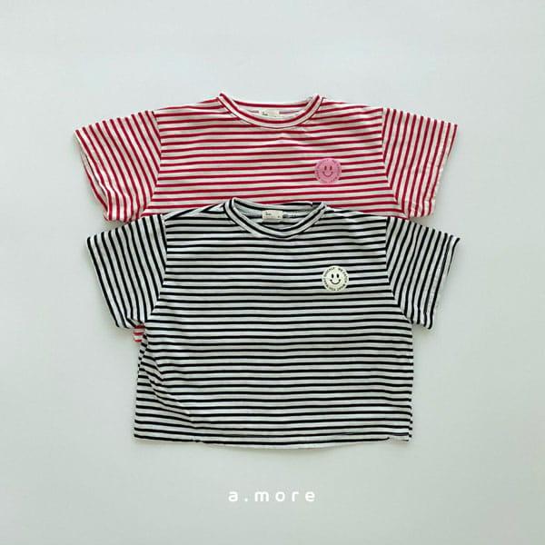 AMORE - Korean Children Fashion - #Kfashion4kids - Mom Mini Smile Tee - 3