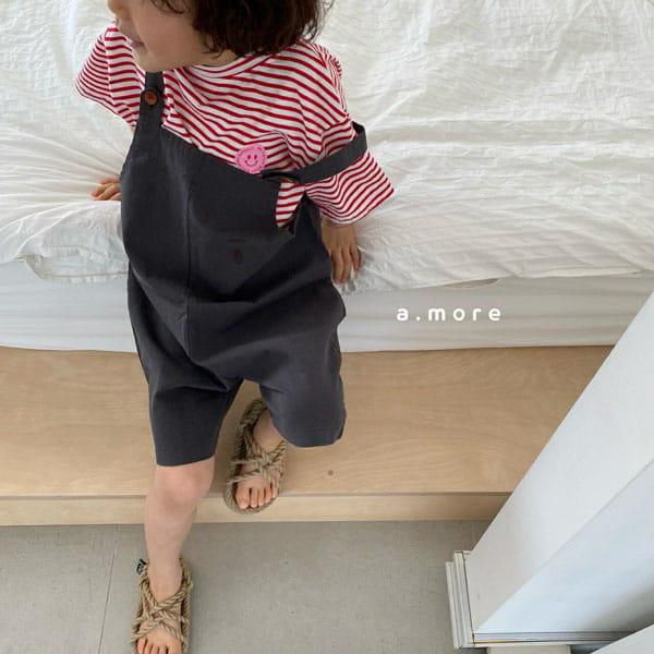 AMORE - Korean Children Fashion - #Kfashion4kids - Mom Mini Smile Tee - 5