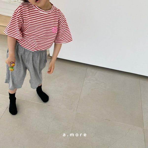 AMORE - Korean Children Fashion - #Kfashion4kids - Mom Mini Smile Tee - 6