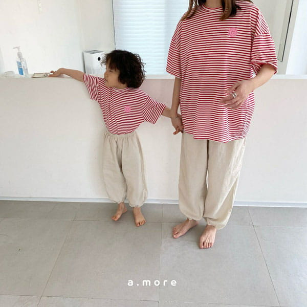 AMORE - Korean Children Fashion - #Kfashion4kids - Mom Mini Smile Tee - 7