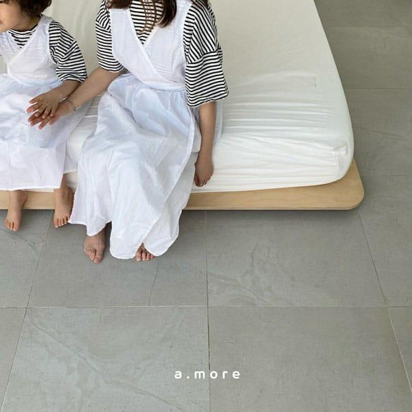 AMORE - Korean Children Fashion - #Kfashion4kids - Mom Mini Smile Tee - 8