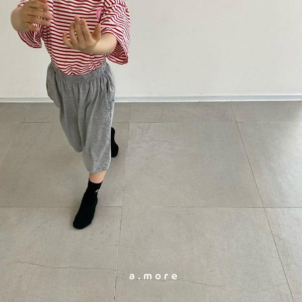 AMORE - Korean Children Fashion - #Kfashion4kids - Mom Mini Smile Tee - 9