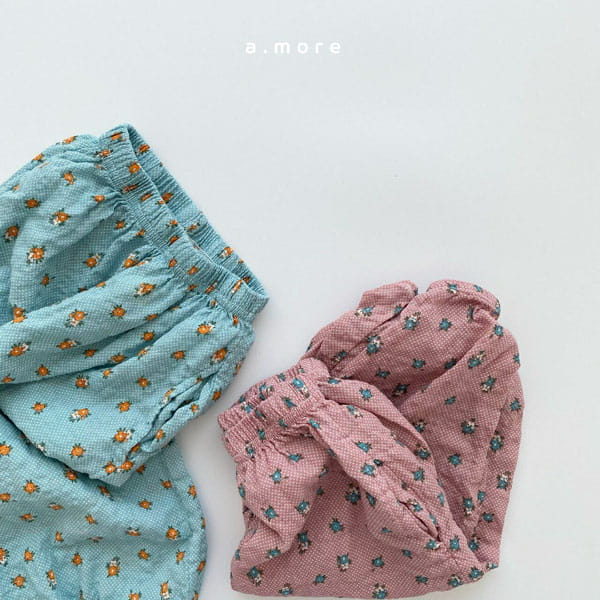 AMORE - Korean Children Fashion - #Kfashion4kids - Mom Floral Pants