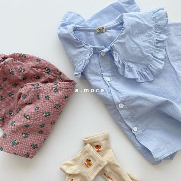 AMORE - Korean Children Fashion - #Kfashion4kids - Mom Floral Pants - 2