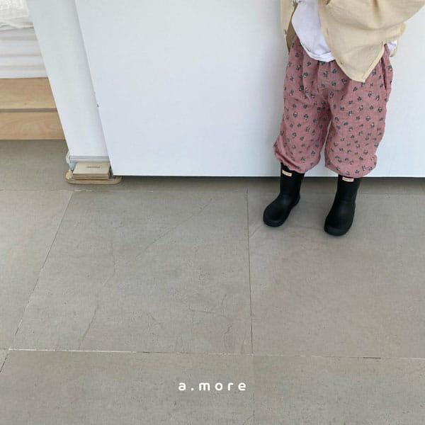 AMORE - Korean Children Fashion - #Kfashion4kids - Mom Floral Pants - 5