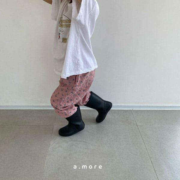 AMORE - Korean Children Fashion - #Kfashion4kids - Mom Floral Pants - 6