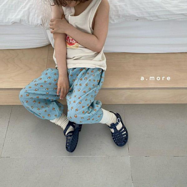 AMORE - Korean Children Fashion - #Kfashion4kids - Mom Floral Pants - 7