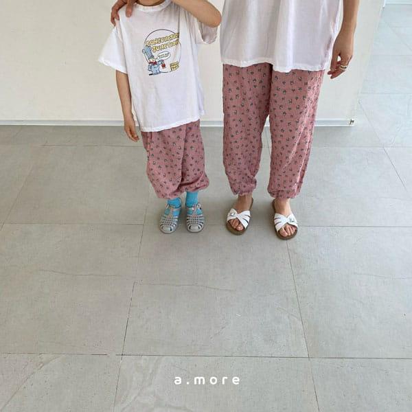 AMORE - Korean Children Fashion - #Kfashion4kids - Mom Floral Pants - 9