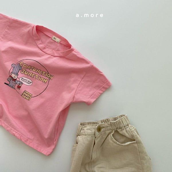 AMORE - Korean Children Fashion - #Kfashion4kids - Mom Fat Person Tee