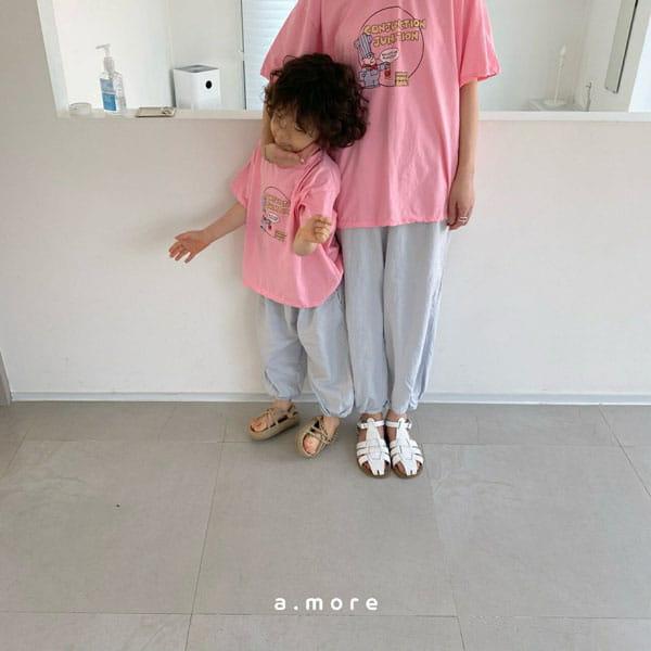 AMORE - Korean Children Fashion - #Kfashion4kids - Mom Fat Person Tee - 3