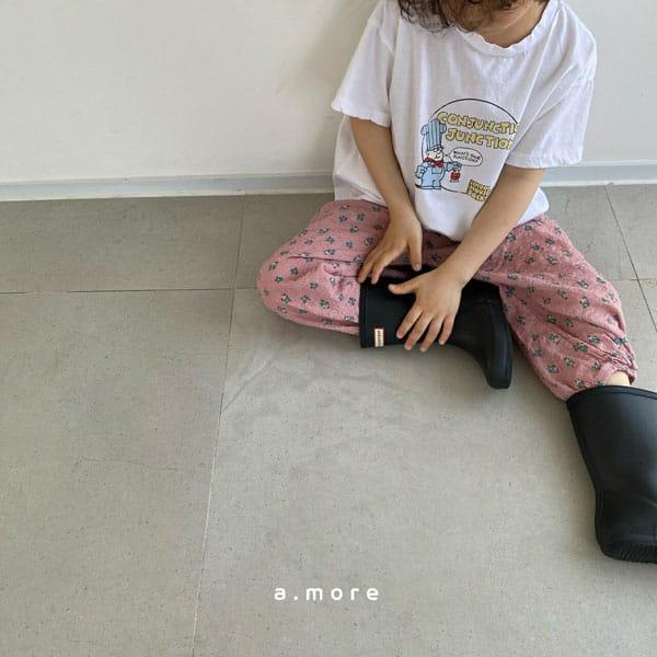 AMORE - Korean Children Fashion - #Kfashion4kids - Mom Fat Person Tee - 5