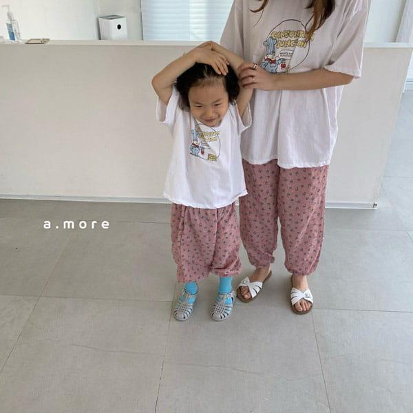 AMORE - Korean Children Fashion - #Kfashion4kids - Mom Fat Person Tee - 6