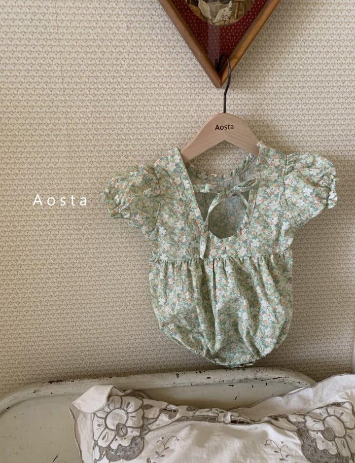 AOSTA - Korean Children Fashion - #Kfashion4kids - Garden Lunch Bodysuit - 7