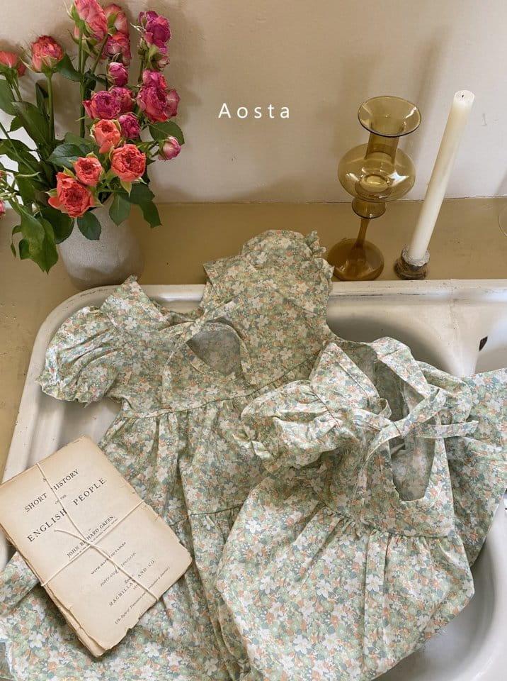 AOSTA - Korean Children Fashion - #Kfashion4kids - Garden Lunch Bodysuit - 9