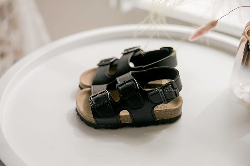 BABYZZAM - Korean Children Fashion - #Kfashion4kids - Cork Sandals - 2