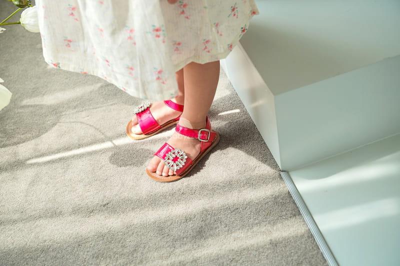 BABYZZAM - Korean Children Fashion - #Kfashion4kids - Purple Sandals - 10