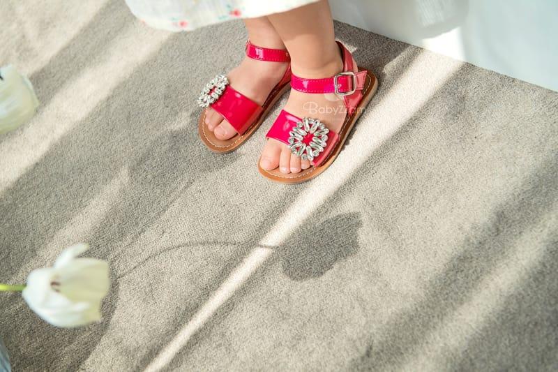 BABYZZAM - Korean Children Fashion - #Kfashion4kids - Purple Sandals - 11