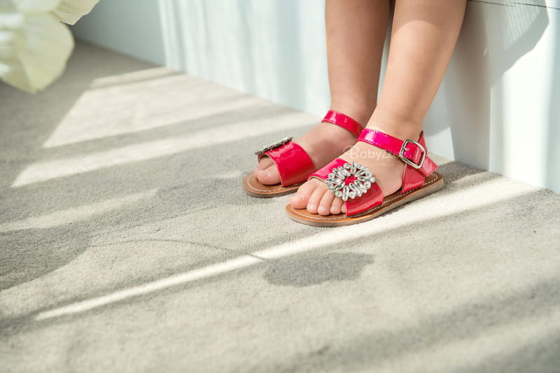 BABYZZAM - Korean Children Fashion - #Kfashion4kids - Purple Sandals - 12