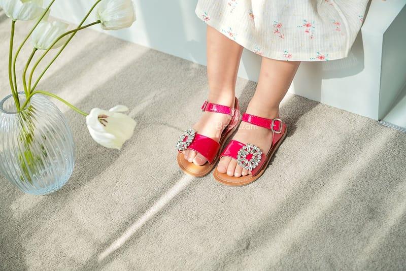 BABYZZAM - Korean Children Fashion - #Kfashion4kids - Purple Sandals - 2