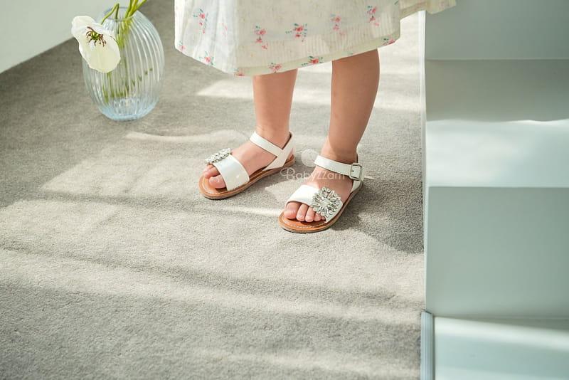 BABYZZAM - Korean Children Fashion - #Kfashion4kids - Purple Sandals - 3
