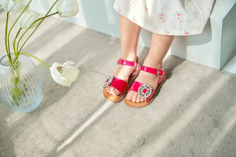 BABYZZAM - Korean Children Fashion - #Kfashion4kids - Purple Sandals - 9