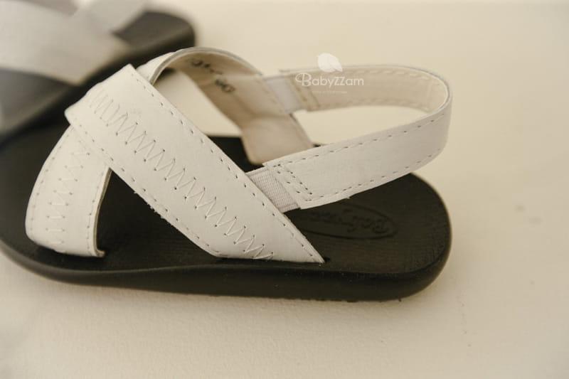 BABYZZAM - Korean Children Fashion - #Kfashion4kids - Sheepskin Cross Sandals - 12