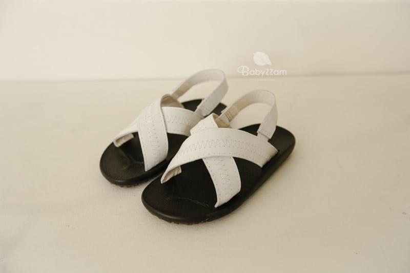 BABYZZAM - Korean Children Fashion - #Kfashion4kids - Sheepskin Cross Sandals - 2