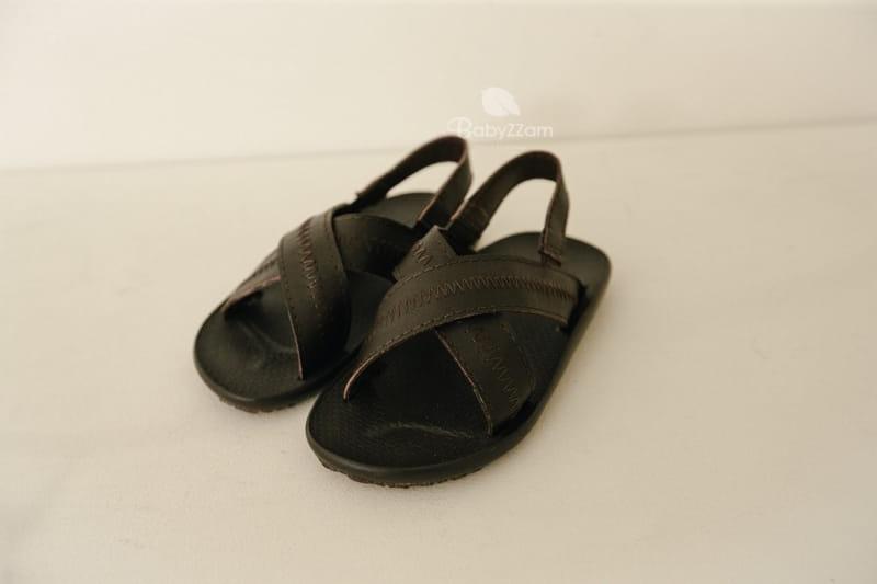 BABYZZAM - Korean Children Fashion - #Kfashion4kids - Sheepskin Cross Sandals - 3