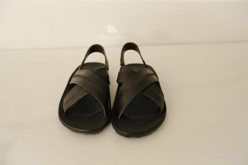 BABYZZAM - Korean Children Fashion - #Kfashion4kids - Sheepskin Cross Sandals - 5