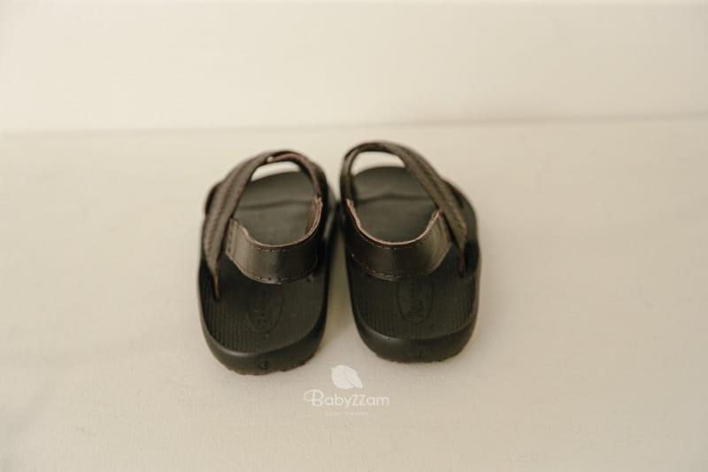 BABYZZAM - Korean Children Fashion - #Kfashion4kids - Sheepskin Cross Sandals - 8
