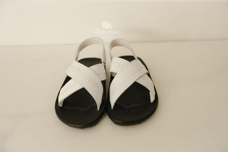 BABYZZAM - Korean Children Fashion - #Kfashion4kids - Sheepskin Cross Sandals - 9