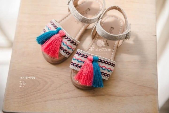 BABYZZAM - Korean Children Fashion - #Kfashion4kids - Ethnic Sandals - 3