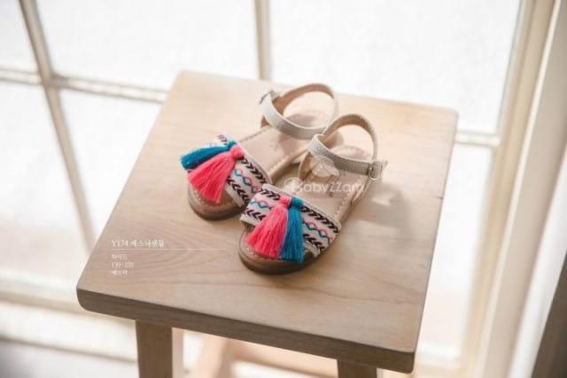 BABYZZAM - BRAND - Korean Children Fashion - #Kfashion4kids - Ethnic Sandals