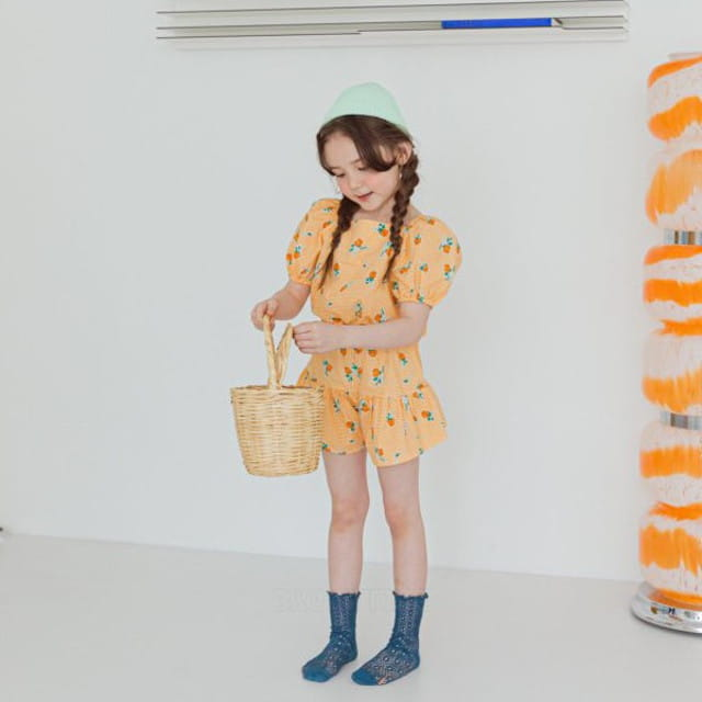 BERRY BERRY - BRAND - Korean Children Fashion - #Kfashion4kids - Aseop Top Bottom Set