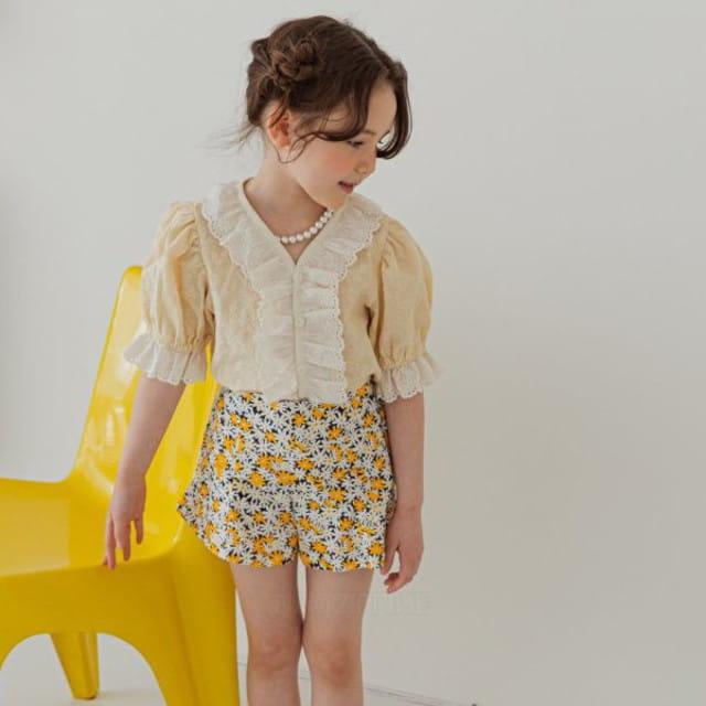 BERRY BERRY - BRAND - Korean Children Fashion - #Kfashion4kids - Bay Blouse