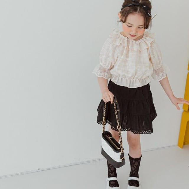 BERRY BERRY - BRAND - Korean Children Fashion - #Kfashion4kids - Cong Cong Skirt