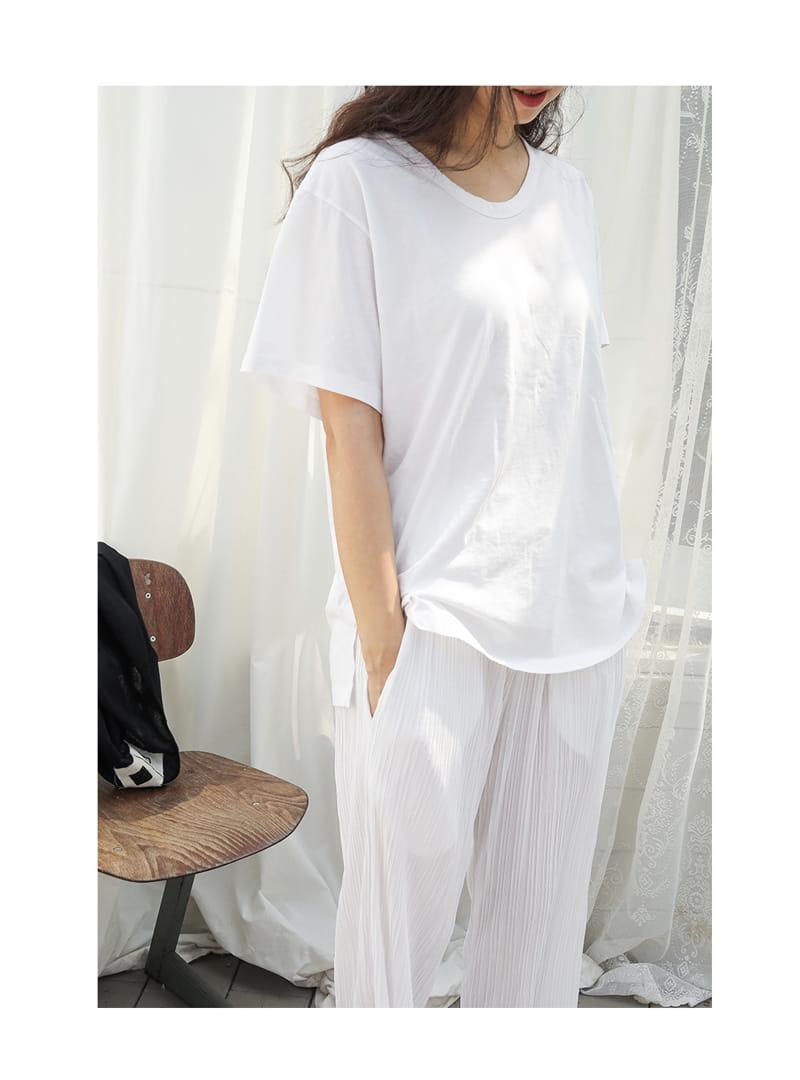 BIEN A BIEN - Korean Children Fashion - #Kfashion4kids - Mom U Neck Tee