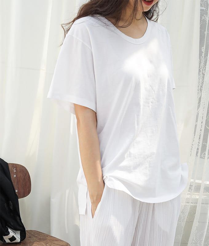 BIEN A BIEN - BRAND - Korean Children Fashion - #Kfashion4kids - Mom U Neck Tee