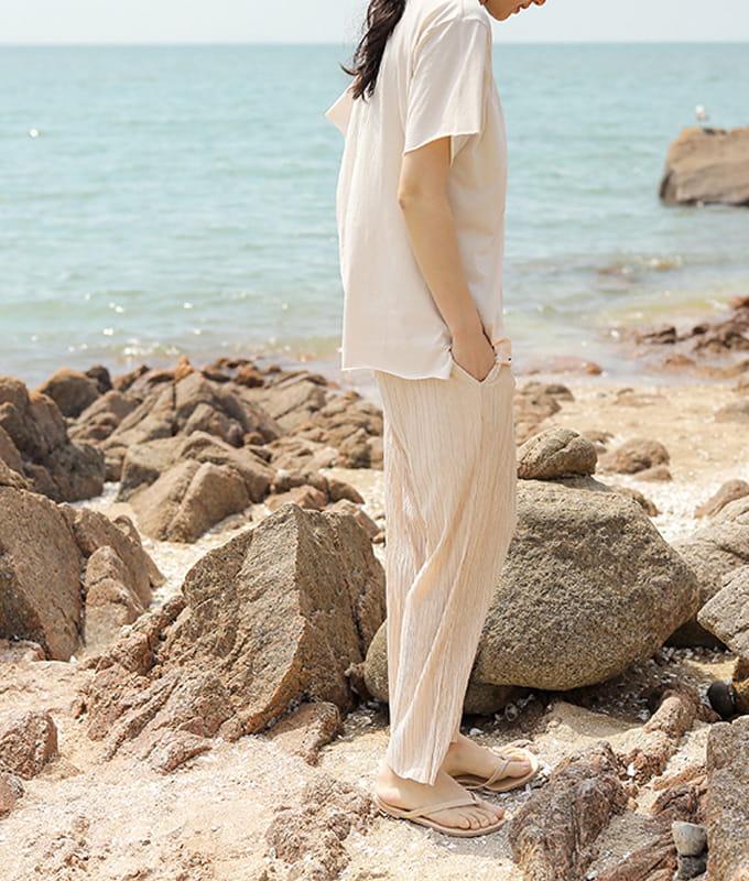 BIEN A BIEN - BRAND - Korean Children Fashion - #Kfashion4kids - Mom Pleats Pants