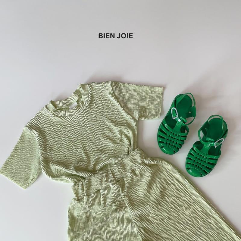 BIEN JOIE - Korean Children Fashion - #Kfashion4kids - El Top Bottom Set - 10