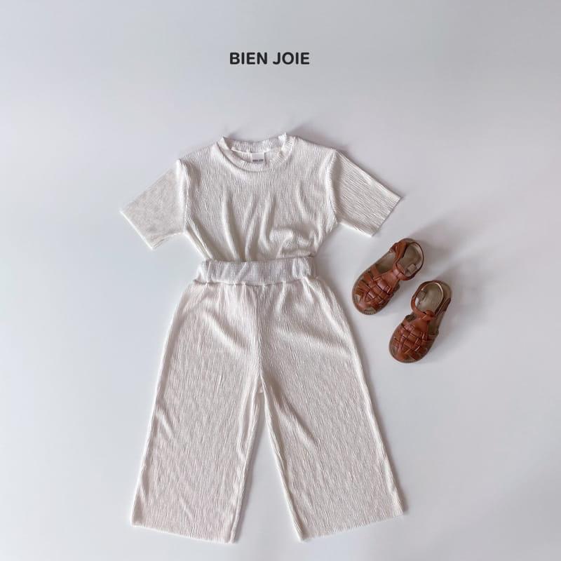 BIEN JOIE - Korean Children Fashion - #Kfashion4kids - El Top Bottom Set - 12