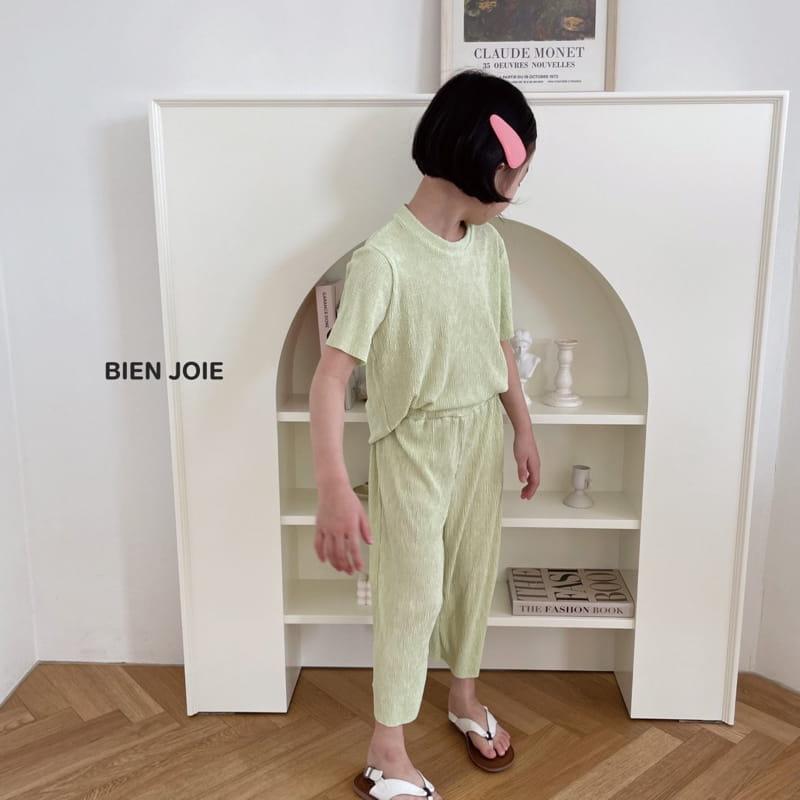BIEN JOIE - Korean Children Fashion - #Kfashion4kids - El Top Bottom Set - 3