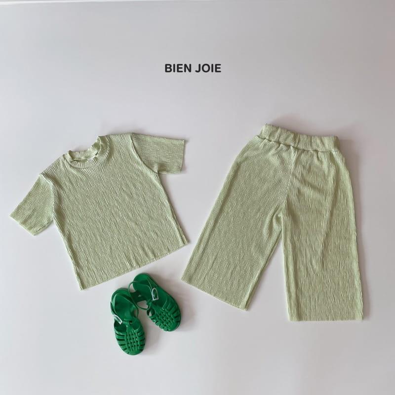 BIEN JOIE - Korean Children Fashion - #Kfashion4kids - El Top Bottom Set - 8